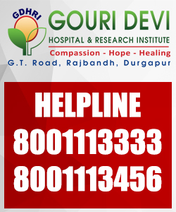 GDHRI is a multispeciality hospital in West Bengal, Durgapur.